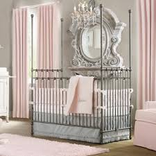 interior furniture bedroom kids room awesome vintage iron excerpt pink and brown nursery baby girl baby nursery design ideas inmyinterior interior furniture