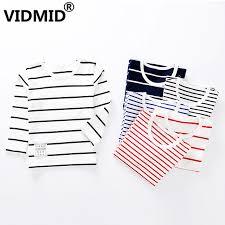 <b>VIDMID Kids</b> clothes <b>Children</b> T shirts striped <b>Long Sleeve</b> Cotton ...