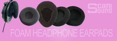 <b>Foam</b> headphone <b>earpads</b> can be easily replaced with new ...