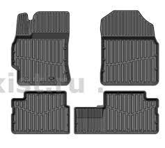 Настоящие! <b>Резиновые коврики в салон</b> Toyota Corolla 150 ...