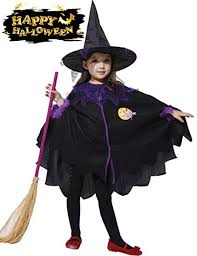 Genevo Witch <b>Halloween Costumes</b> for Girls <b>Halloween Pumpkin</b> ...