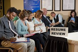 how much time from interview to job offer applicants at job fair