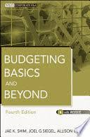 <b>Budgeting</b> Basics and Beyond - <b>Jae K</b>. <b>Shim</b>, Joel G. Siegel, Allison I ...