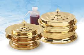 Artistic <b>9 Piece</b> Communion Starter Set - <b>Solid</b> Brass | Cokesbury