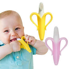 <b>Silicone</b> Toothbrush Safe <b>Baby Teether</b> Children Kids Chewing ...