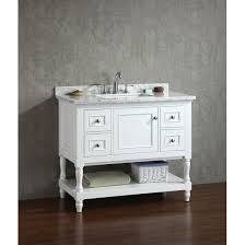 bathroom features gray shaker vanity: ari kitchen ampamp bath cape cod ampquot single bathroom vanity