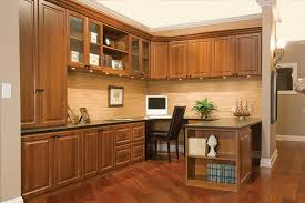 chicago home office with custom desk cabinets organization system in traditional style chicago home office