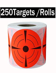 "Pop Resin <b>Target Stickers</b> (<b>Qty 250pcs</b> 3"") 