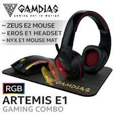 Gamdias <b>ARTEMIS E1</b> Gaming Combo - Best Deal - South Africa