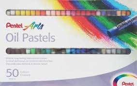 """<b>Пастель масляная Pentel</b> """"Oil Pastels"""", в ассортименте, 50 цветов ..."""