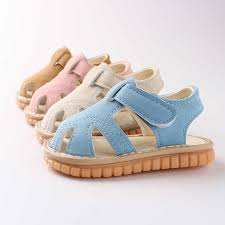 <b>2019 New Arrival Cute</b> Baby Girls Boys Sandals with Sound Kids ...