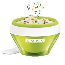 <b>Мороженица</b> Zoku <b>Ice Cream Maker</b> ZK120-GN купить в Москве ...