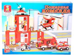 <b>Конструктор SLUBAN Пожарные</b> спасатели M38-B3100 — купить ...