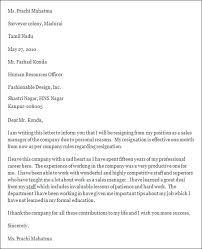 professional resignation letter sampleprofessional resignation letter format