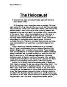 why did the holocaust happen   gcse history   marked by teacherscom the holocaust