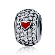 Fashion Jewellery <b>Love Heart</b> Forever Together Engrave Bead fit ...