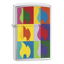 ROZETKA   <b>Зажигалка</b> Zippo <b>Abstract Flame</b> 29623. Цена, купить ...
