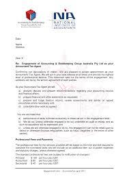 bookkeeping engagement letter template letter template  category 2017 tags bookkeeping engagement letter sample