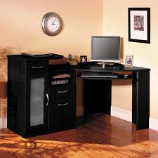 furniture office desk smooth laminate floor decor comes with computer sets on elegant black corner awesome office desk simple