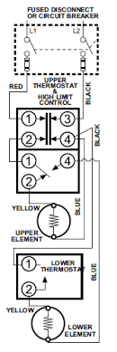 wiring diagram for hot water heater the wiring diagram wiring diagram dual elet water heater wiring car wiring diagram