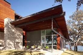 balcony patio house framing contemporary exterior by dick clark associates