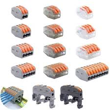 Se treff på WAGO 221- 412 413 415 28PCS/BOX Wire Butt Joint ...