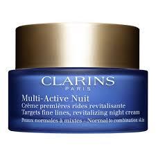 <b>Clarins Multi</b>-<b>Active Ночной</b> крем против первых возрастных ...