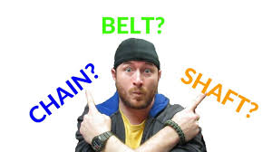 <b>Motorcycle</b> Chain VS <b>Belt</b> VS Shaft <b>Drive</b> Which is Better? - YouTube