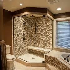 design walk shower designs: corner walk in shower design idea