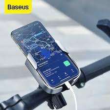 <b>Baseus</b> Adjustable Phone <b>Holder</b> For Bicycle <b>Motorcycle</b> Electric ...