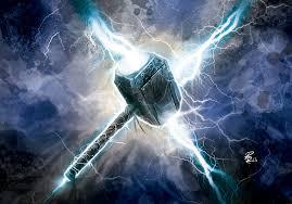 Resultado de imagem para mjolnir