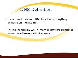 why we used a domain name?