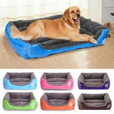 Warm Dogs <b>Pet</b> Bed Soft <b>S 3XL</b> 8 Colors Paw <b>Pet</b> Sofa <b>Dog</b> House ...