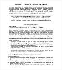construction resume –   free samples   examples   formatconstruction resume template