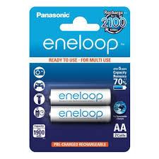 Аккумулятор <b>Panasonic</b> Eneloop LR6 <b>AA</b> 1900 mAh R2U (уп 2 шт ...