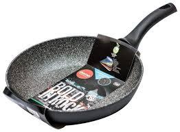 Купить <b>Сковорода Domo</b> Bold in Rock BR2281 <b>28 см</b>, серый по ...