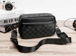Classic Luxury Zipper Plaids Key Chain Pouch <b>PU</b> Vegan Leather ...