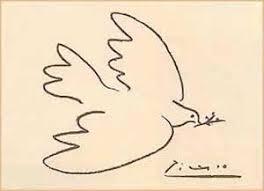Resultado de imagen para paloma de la paz picasso