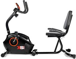 XS Sports B400R ​Magnetic <b>Recumbent Exercise Bike</b> - Cycle ...