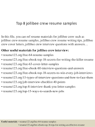 Top   jollibee crew resume samples In this file  you can ref resume materials for