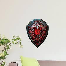 free shipping demon shield 3d diy wall clock sticker modern design silent movement home office wall aliexpresscom buy office decoration diy wall