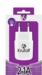 СЗУ <b>Krutoff</b> CH-17 1xUSB 2.1A + кабель <b>USB Type</b>-<b>C</b> - Компания ...