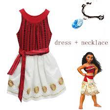 2018 Princess <b>Moana Cosplay</b> Costume for Children <b>girls</b> Vaiana ...