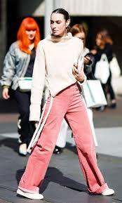 Pink <b>corduroy</b> trouser trend: Street style | Модные стили, Стиль ...