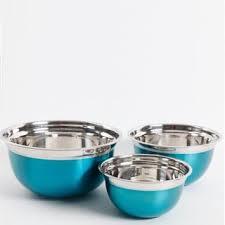 Shop Oster Rosamond 3 <b>Pc</b>. <b>Mixing Bowl</b> Set, Turquoise - On Sale ...