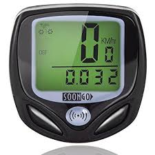 <b>Bike Computer Speedometer</b> Wireless Waterproof <b>Bicycle Odometer</b> ...