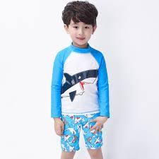 Boy <b>Swimsuits Hot</b> Sale Baby <b>Swimwear</b> Shark Cartoon <b>Print</b> ...