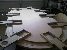 dining table woodworkers:  images about game table on pinterest game tables ana white and pedestal