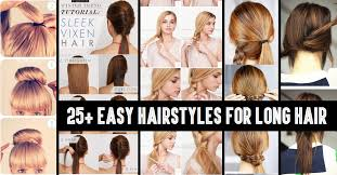 from cly to cute 25 easy hairstyles for long hair