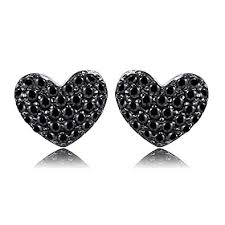 <b>JewelryPalace</b> 0.29ct Genuine Spinel Love <b>Heart</b> Earrings <b>925</b> ...